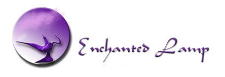 Logo for Enchanted Lamp